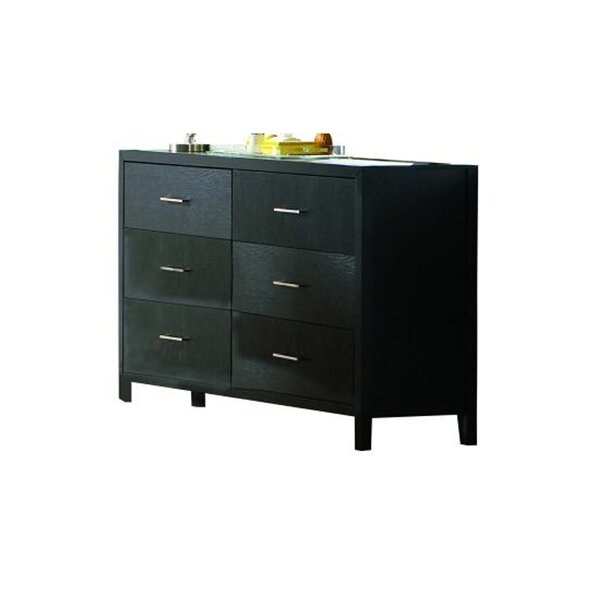 Andenwood 6 Drawer Double Dresser by Wrought Studio