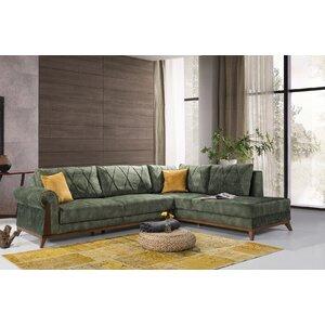 Lambert Sleeper Sectional by Perla Furniture by Corrigan Studio