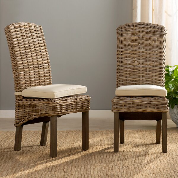North Bay Dining Chair (Set of 2) by Rosecliff Heights