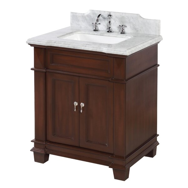 Elizabeth 30 Single Bathroom Vanity Set by Kitchen Bath Collection