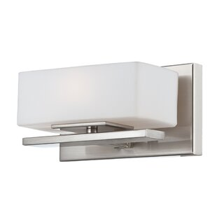 Reviews Cesar 1-Light Wall Sconce By Langley Street