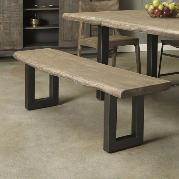 Speedwell Solid Wood Bench by Union Rustic