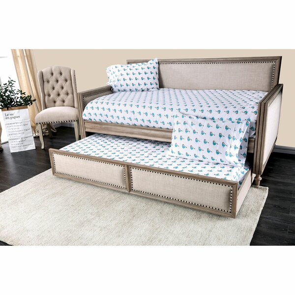 Arleta Twin Daybed with Trundle by One Allium Way