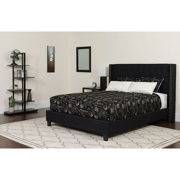 Amily Tufted Twin Upholstered Platform Bed by Winston Porter