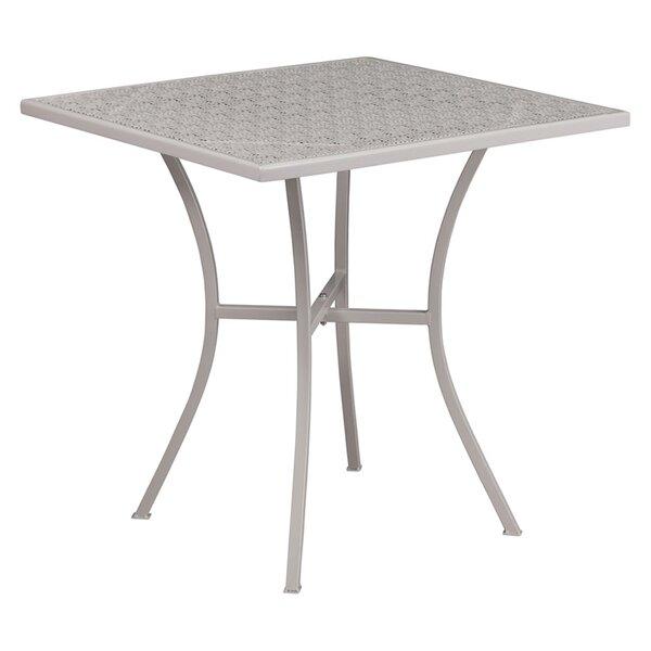 Siobhan Metal Dining Table by Ebern Designs