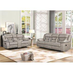 Wallart 2 Piece Reclining Living Room Set by Red Barrel Studio®