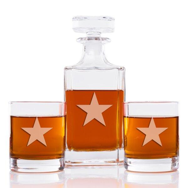 Affric Star Classic 3 Piece Beverage Serving Set by Longshore Tides