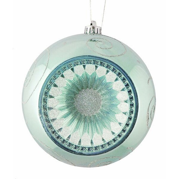Retro Reflector Shatterproof Ball Ornament by Northlight Seasonal