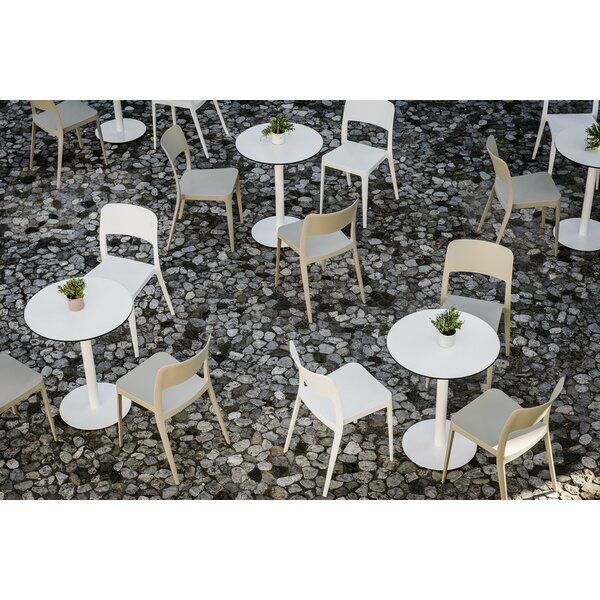 Nenè Stacking Patio Dining Chair by Midj