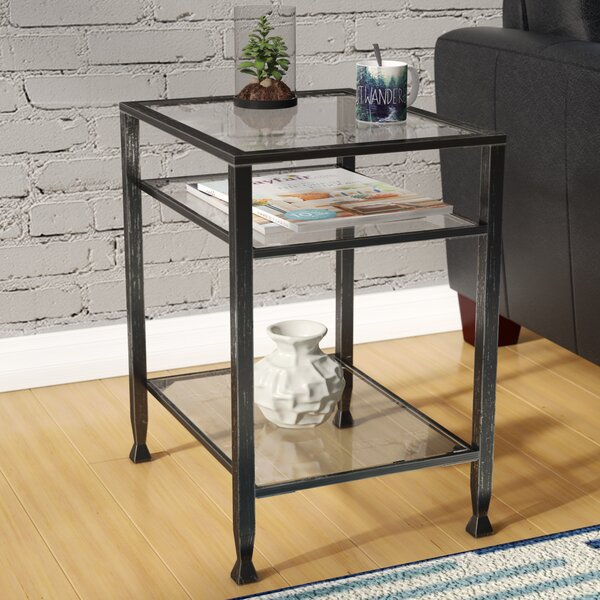 Collingdale End Table by Mercury Row