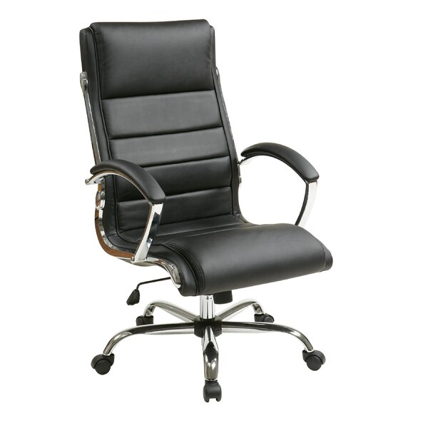 Lombardo High-Back Executive Chair by Wade Logan