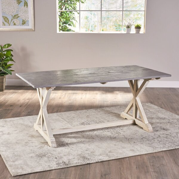 Nava Dining Table by Gracie Oaks