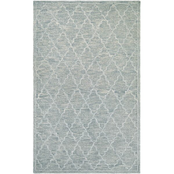 Willisville Hand-Woven Smoke Area Rug by Darby Home Co
