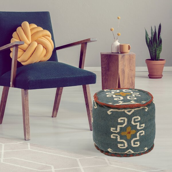 Ada Upholstered Pouf by Mistana