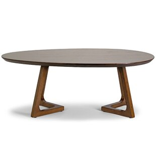 Best Reviews Ailsa Irregular Oval Coffee Table ByGlamour Home Decor