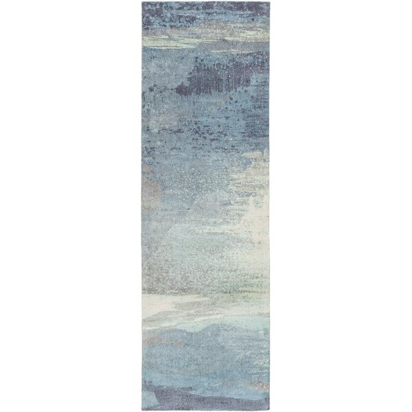 Greenlee Blue/Gray Area Rug by Brayden Studio