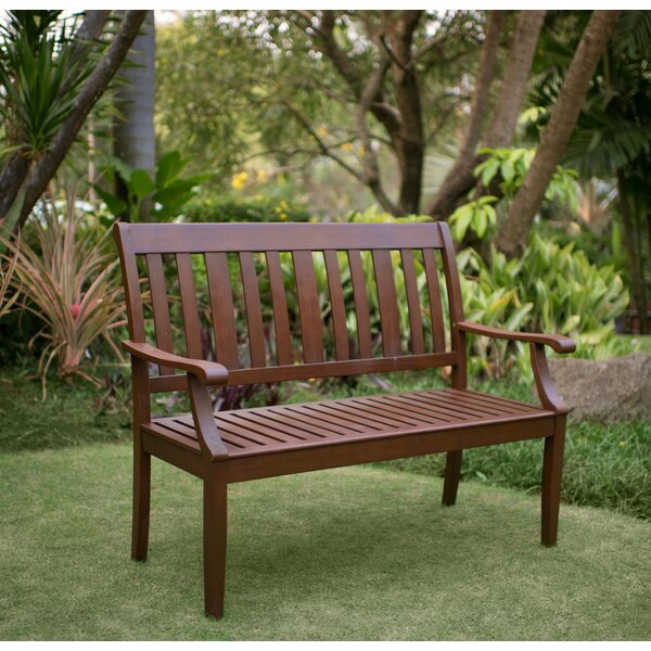 Dowling Wood Garden Bench by Three Posts