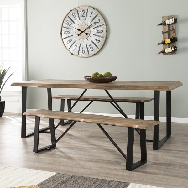 Lakenheath 3 Piece Dining Set by Home Loft Concept
