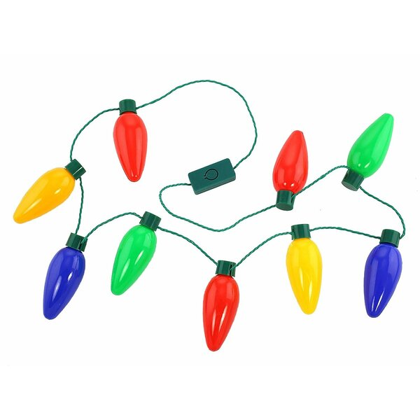 Holiday LED Bulb Necklace String Lights (Set of 2) by The Holiday Aisle