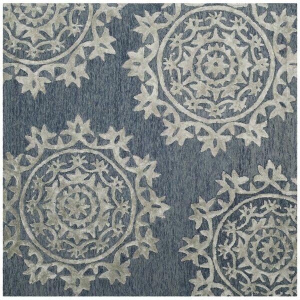 Mcguire Hand-Tufted Blue Indoor Area Rug by Willa Arlo Interiors