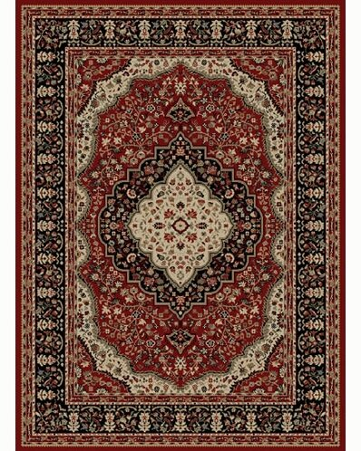 Ankara Kerman Red Rug by Threadbind
