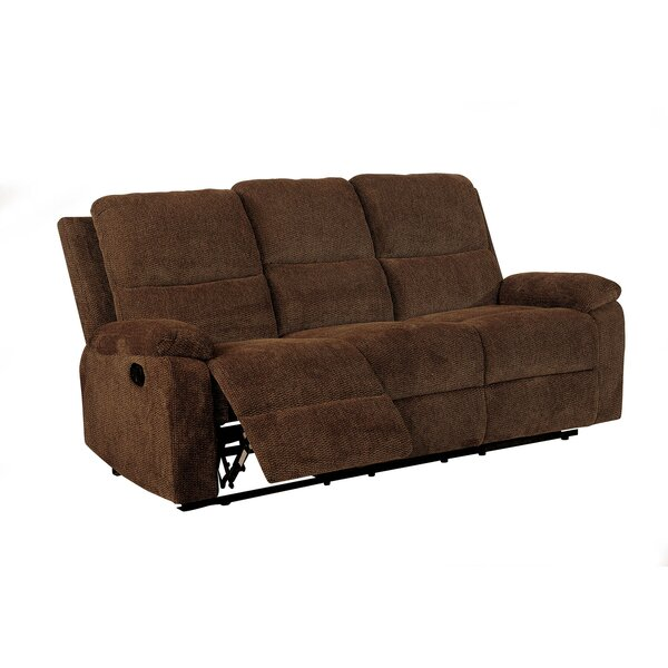 Senna Transitional Sofa Manual Wall Hugger Recliner by Red Barrel Studio