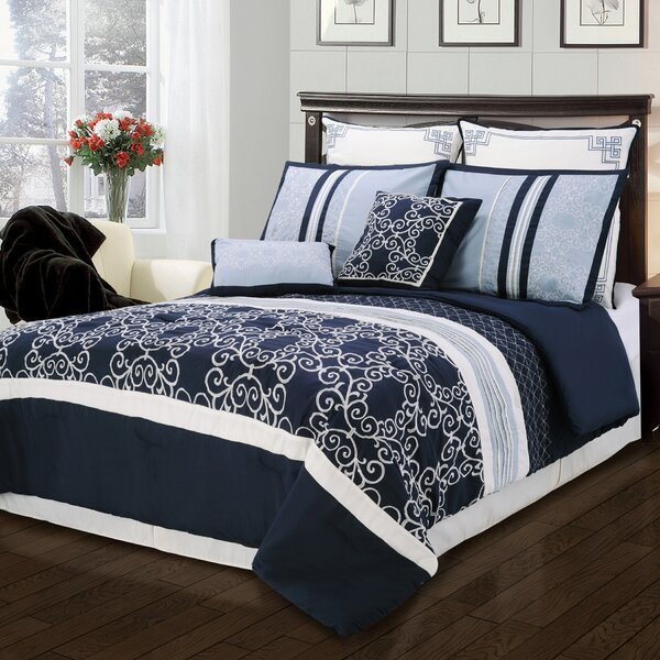 Clarissa 8 Piece Comforter Set by Simple Luxury