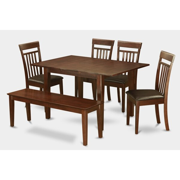 Lorelai 6 Piece Dining Set By Alcott Hill Great Reviews