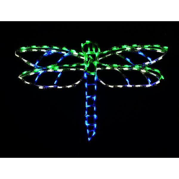 LED Dragonfly Display Light by Brite Ideas