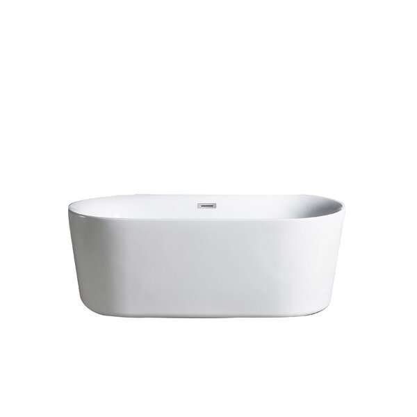 Tiffany 32 x 60 Soaking Bathtub by Eviva