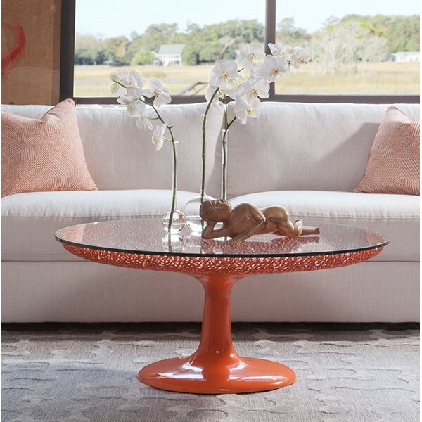 Review Pedestal Coffee Table