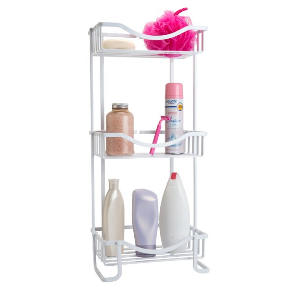 Anodized 11.8 W x 25.59 H Bathroom Shelf by Bath B