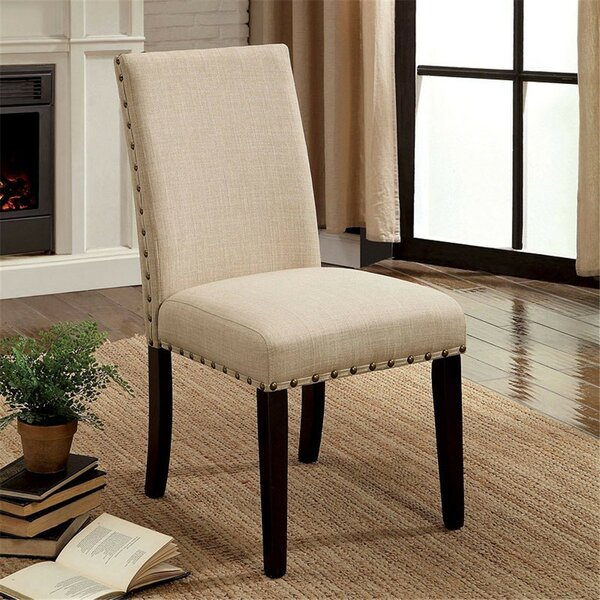 Rigby Upholstered Dining Chair (Set of 2) by Alcott Hill