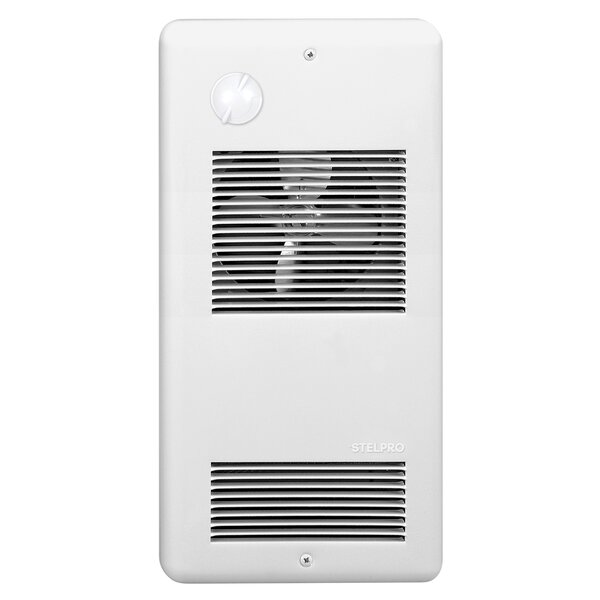 1500 Watt Electric Fan Wall Mounted Heater With Digital Thermostat By StelPro