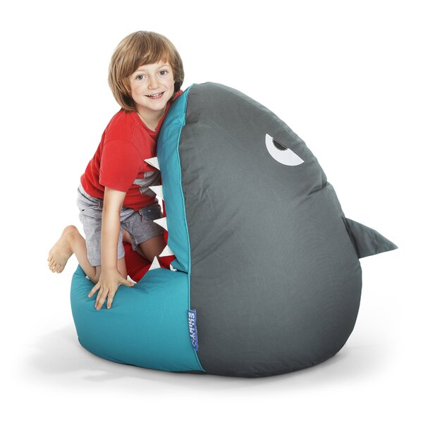 Shark Bean Bag Chair by Zoomie Kids