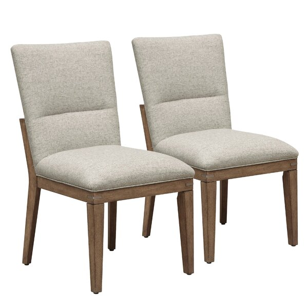 Marshburn Upholstered Dining Chair (Set of 2) by Union Rustic
