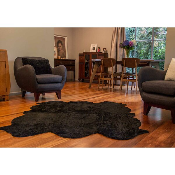 Curly Zealamb Black Rug by Bowron Sheepskin Rugs