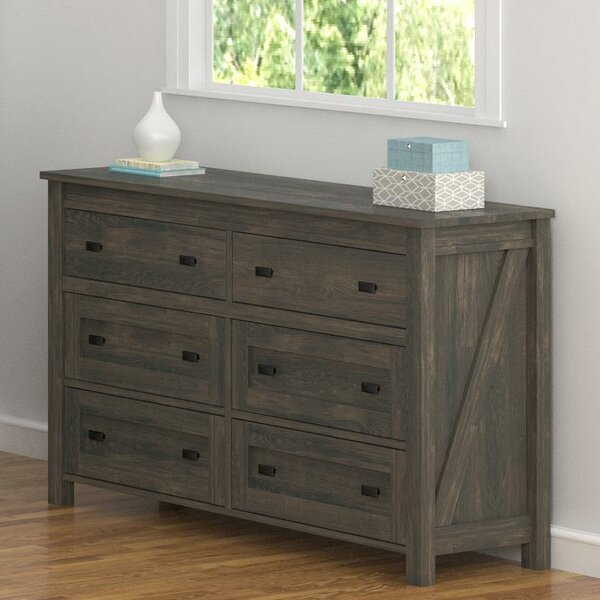 Cleveland 6 Drawer Chest by Gracie Oaks