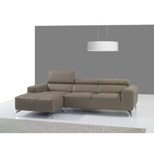 Alden Leather Sectional