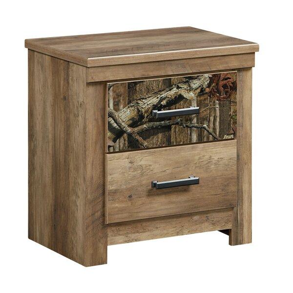 Cooper 2 Drawer Nightstand by Loon Peak