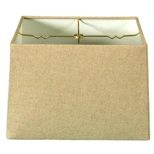 14 Linen Square Lamp Shade by Alcott Hill