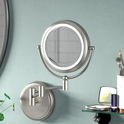 15x Lighted Magnifying Mirror Wayfair