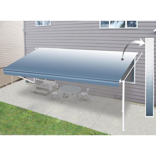 21 ft. W x 8 ft. D Retractable Patio Awning by ALEKO