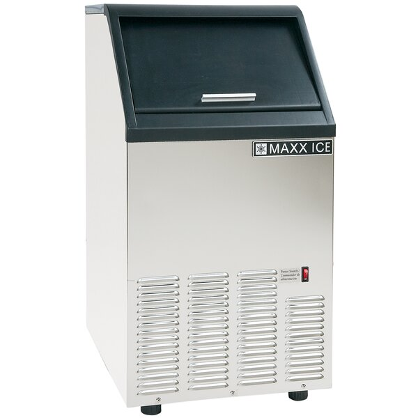 17 W 75 lb. Freestanding Ice Maker by Maxx Ice
