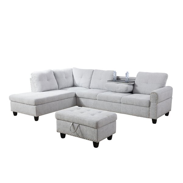 Richland Sectional with Ottoman by Rosdorf Park