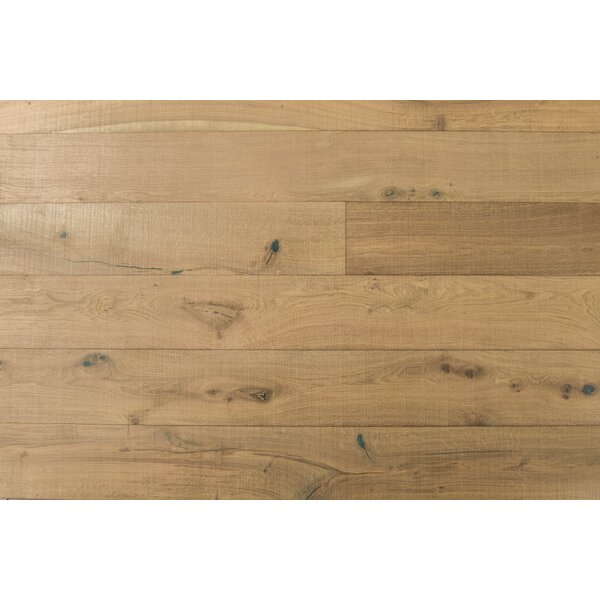 Abdi 7-1/2 Engineered Oak Hardwood Flooring in Tan by Albero Valley