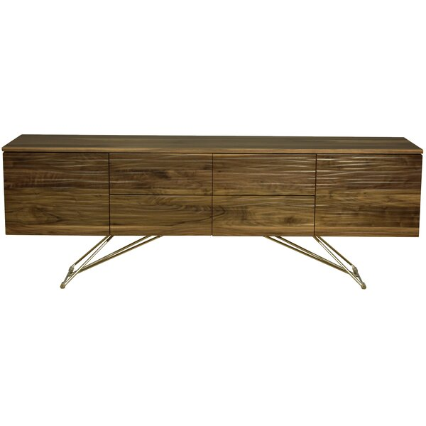 Alegra 2 Door and 2 Drawer Buffet Table by Union Rustic