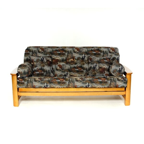 Gone Hunting Box Cushion Futon Slipcover by Lifestyle Covers
