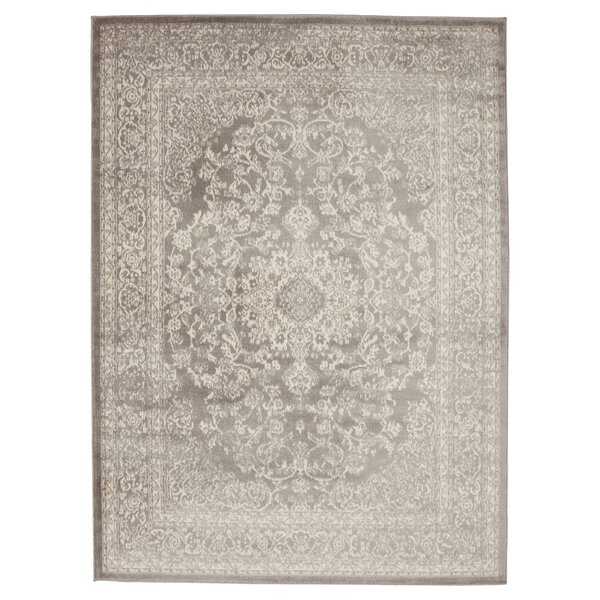 Leishman Gray Area Rug by Alcott Hill
