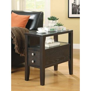 Mignone End Table with Storage